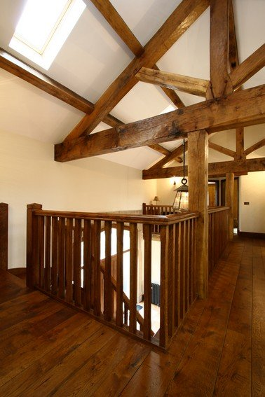 Beams And Internal Features Gallery Altham Oak