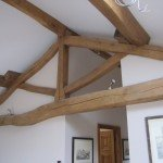 Hand Crafted King Post Truss