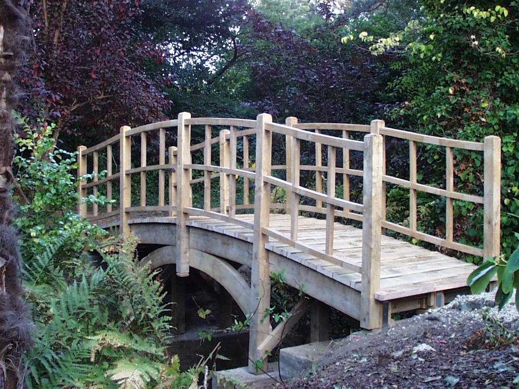 Japanese bridge altham oak for Japanese style bridge