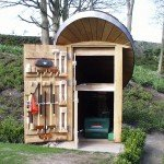 Bespoke Garden Lawn Mower Shelter, Ribble Valley, Lancashire