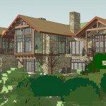 Original Design Concept Turkish Mountain House