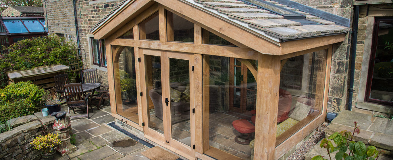 King Post Truss | Oak Framed Buildings