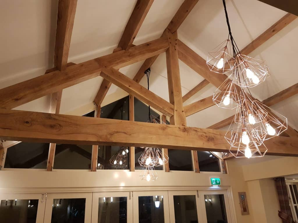 Breathtaking 7m Span Kingpost Truss Purlins And Ridge